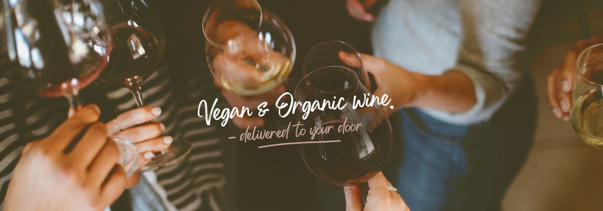 Vegan and Organic Wine Banner